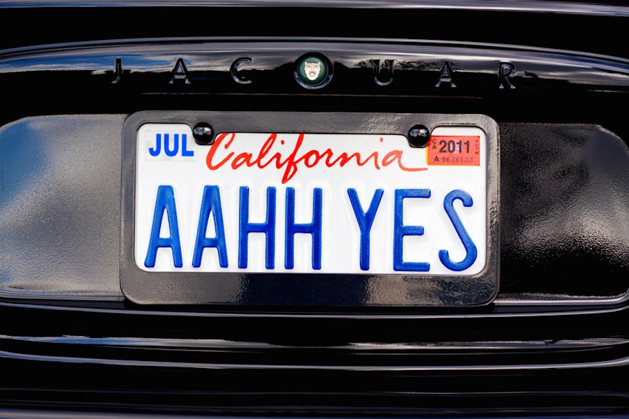 California Closes the Steve Jobs License Plate Loophole | Instamotor