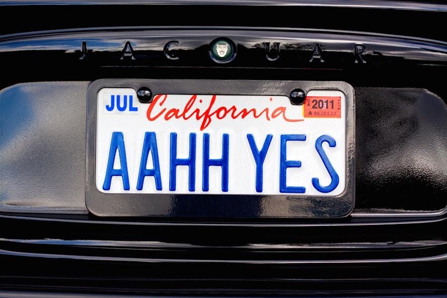 California Closes the Steve Jobs License Plate Loophole