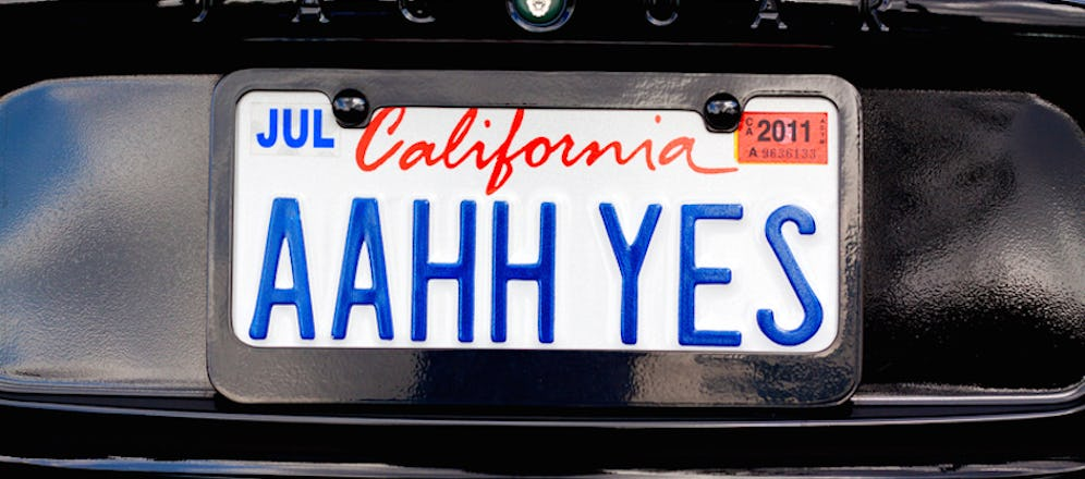 California Closes the Steve Jobs License Plate Loophole