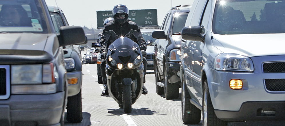 Motorcycle Lane Splitting is Officially Legal in California