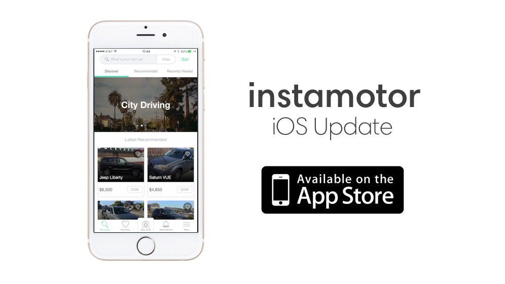 App Update: New Car Recommendation Engine and Other Goodness