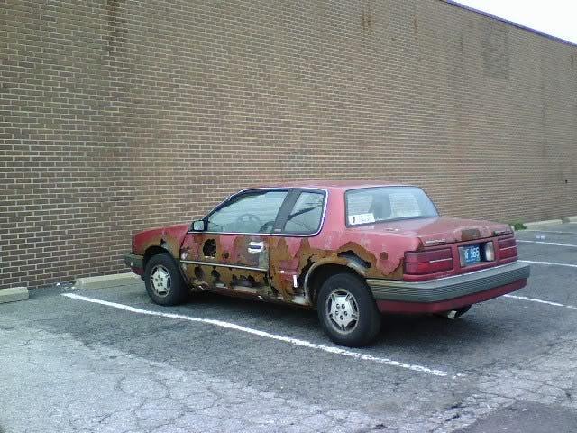 Rust Isnt The Original Factory Paint Color