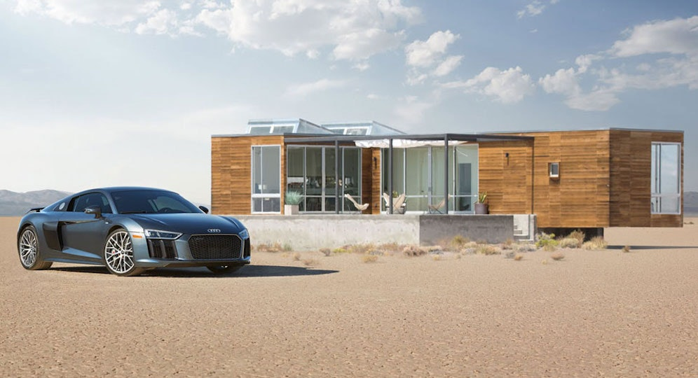 Weekend Getaway in Death Valley with the Audi R8