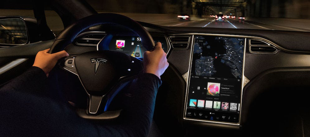 What's New in Tesla's Software Update 8.0
