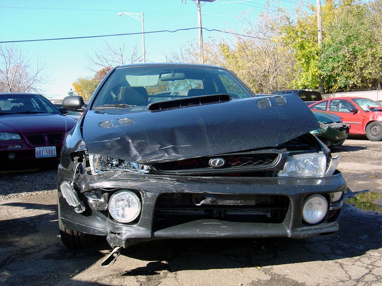 Image result for Signs of Structural Damage on a Vehicle