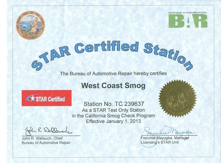 Smog Check Stations Test Only Vs Regular Instamotor