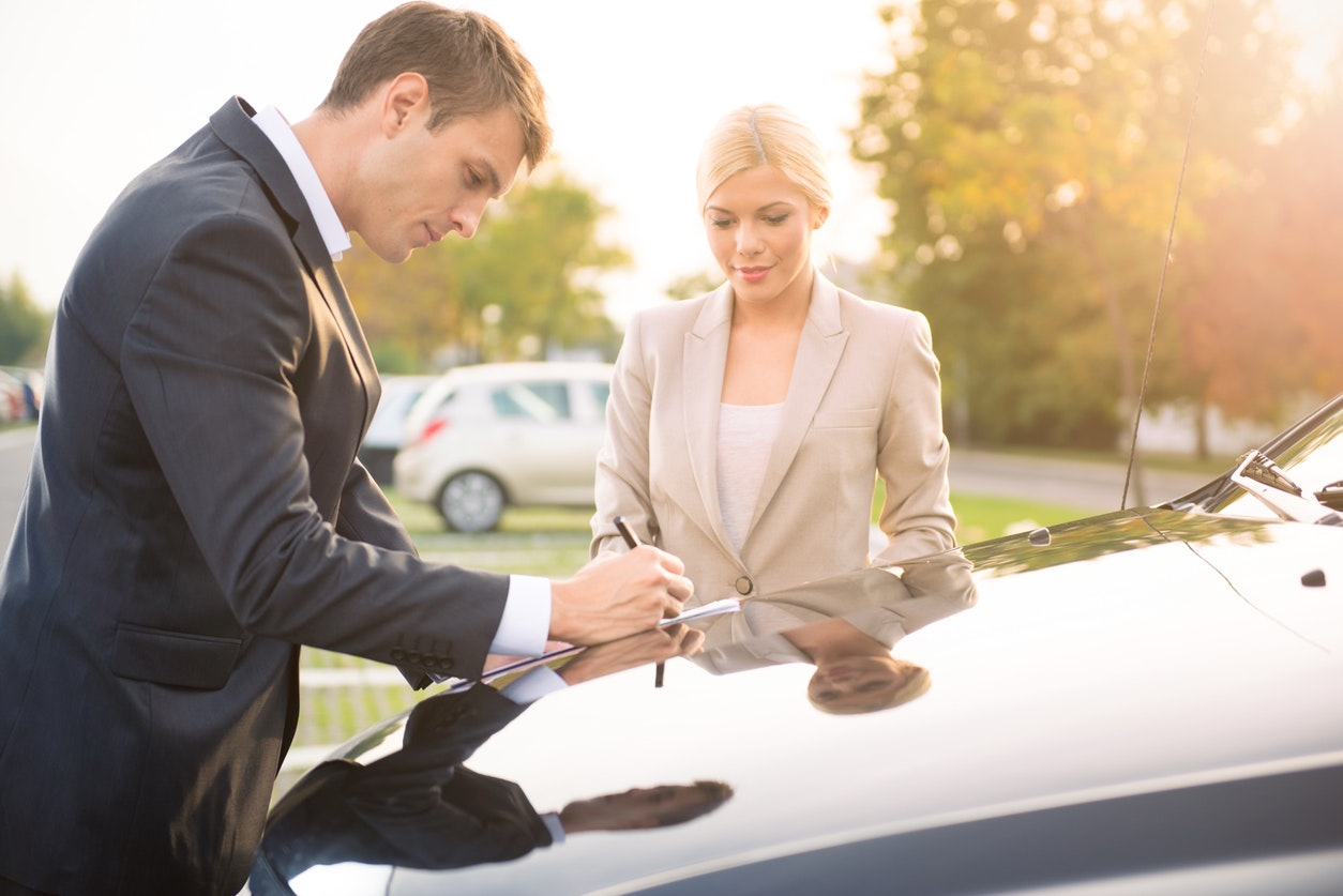 Completing a Bill of Sale in California