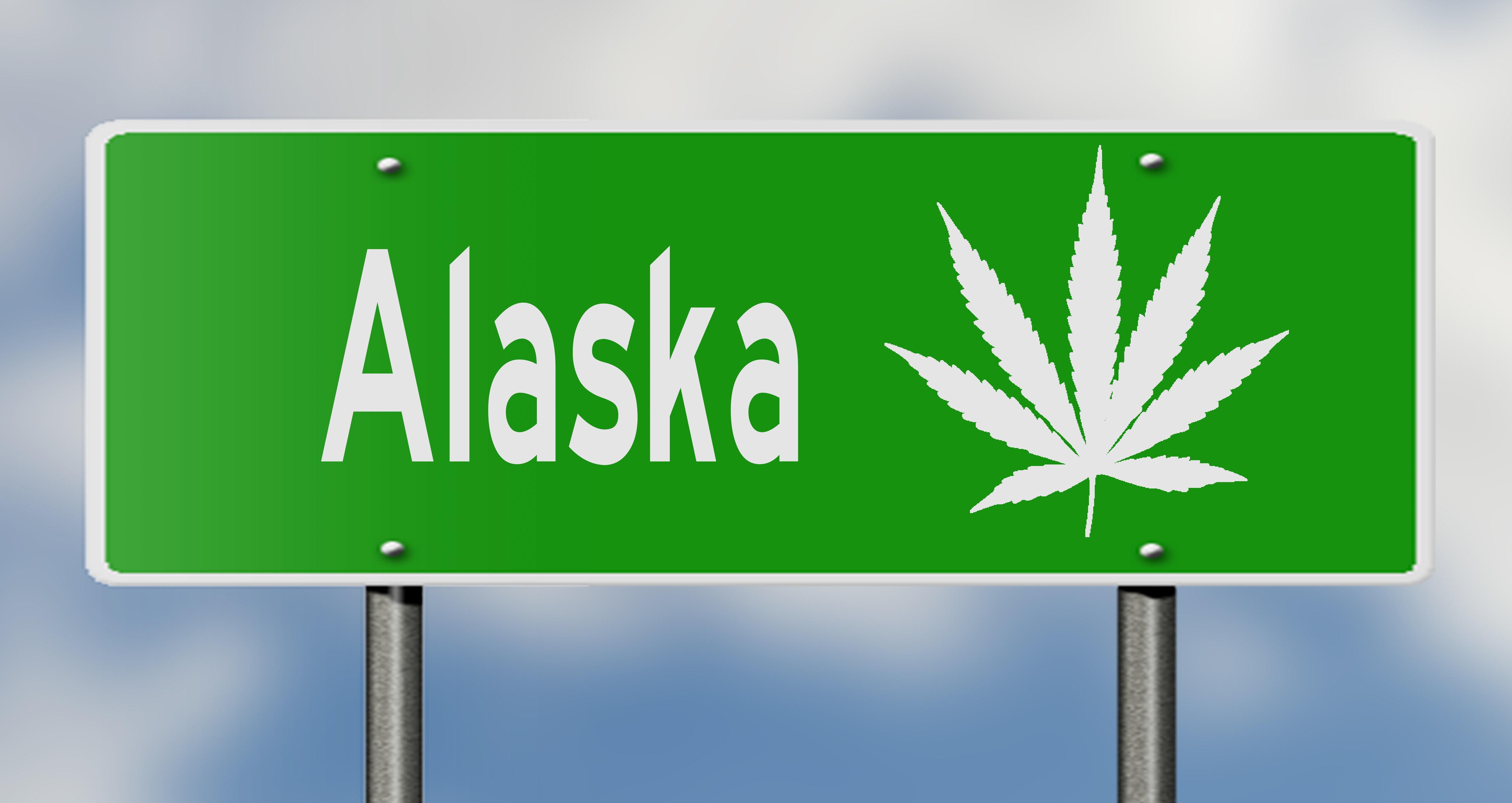 Driving High In Alaska